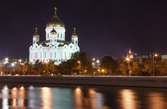 基督大教堂救主,莫斯科,俄国 免版税库存图片