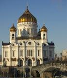 基督大教堂救主,莫斯科,俄国 库存图片
