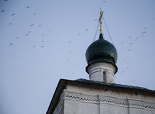 基督大教堂救主在伊尔库次克,俄联盟 库存图片