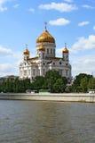 基督寺庙救主在莫斯科 库存图片