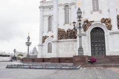 基督寺庙救主 库存图片