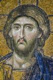 基督形象耶稣马赛克纵向 库存照片