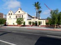 基督徒使命房子在洛杉矶 免版税库存照片