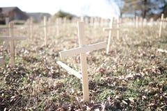 基督徒信念的十字架 免版税图库摄影