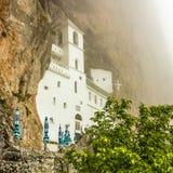 基督徒修道院,黑山教会  库存图片