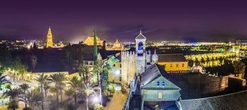 基督徒国君的城堡,科多巴,西班牙 免版税库存图片