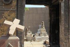 基督徒墓地 免版税库存图片