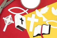 基督徒小块售票工艺 图库摄影