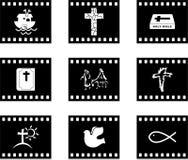 基督徒影片 库存图片