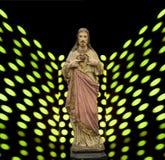 基督徒的耶稣基督救主 免版税库存照片
