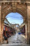 基督徒耶路撒冷季度 库存照片