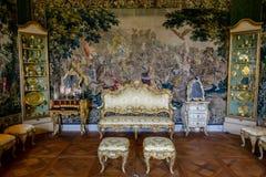 基督徒VI室, Rosenborg城堡,丹麦 库存图片