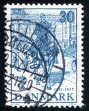 基督徒x在哥本哈根街道  库存照片