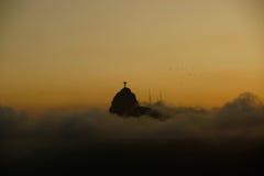 基督救世主雕象 免版税图库摄影