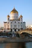 基督救世主教会在莫斯科 免版税库存照片
