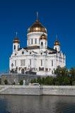 基督救主大教堂在莫斯科 免版税库存照片