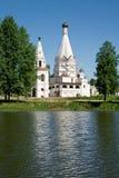 基督教会俄国 库存照片