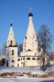 基督教会俄语 免版税库存图片