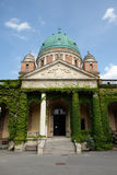 基督教会国王, Mirogoj公墓在萨格勒布 免版税库存图片