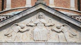 基督教会国王, Mirogoj公墓在萨格勒布 免版税库存照片