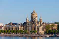 基督教会在俄罗斯 免版税库存图片