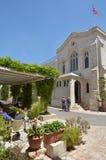 基督教会在耶路撒冷-以色列 库存照片