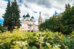 基督教会在雅罗斯拉夫尔市,俄罗斯 免版税库存图片