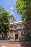 基督教会在费城 库存图片