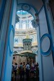 基督教会在Istra,莫斯科地区,俄罗斯附近的新耶路撒冷 免版税库存照片