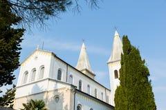 基督教会在Liznjan的中心 图库摄影