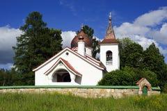 基督教会在Polenovo 库存图片