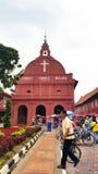 基督教会地标马六甲马来西亚melaka 库存照片