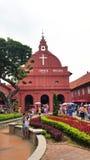 基督教会地标马六甲马来西亚melaka 免版税库存照片