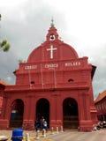 基督教会地标马六甲马来西亚melaka 免版税库存图片