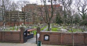基督教会坟场在费城-费城-宾夕法尼亚- 2017年4月6日 库存图片