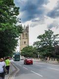 基督教会学院牛津大学 免版税图库摄影