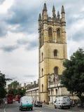 基督教会学院牛津大学 图库摄影