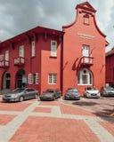基督教会是18世纪英国国教的教堂在市马六甲,马来西亚 库存照片