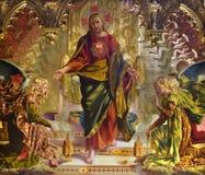 基督教会表单耶稣・ siena 免版税图库摄影