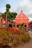 基督教会,马六甲,马来西亚 免版税库存照片