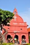 基督教会, Melaka 免版税库存照片