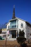 基督教会 30更改的卫兵7月韩国国王好朋友s汉城南部 库存照片