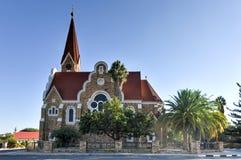 基督教会-温得和克,纳米比亚 免版税库存图片