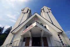 基督教会Constantin si埃琳娜 免版税图库摄影