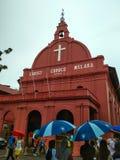 基督教会Melaka 1753 库存照片