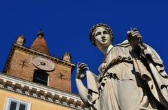 基督教和异端在罗马 图库摄影