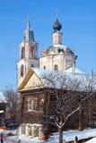 基督教教会在俄罗斯, Kostroma地区, Nerechta 免版税图库摄影