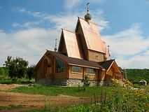 基督教教会 免版税库存照片