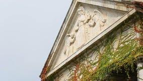 基督老教会建筑学Mirogoj公墓的国王在萨格勒布 影视素材