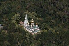 基督诞生的纪念寺庙  库存照片